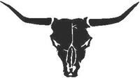 Bull Skull 02 Decal / Sticker