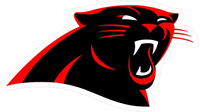 Cougars / Panthers Mascot Decal / Sticker 02