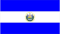 El Salvador Flag Decal / Sticker 01