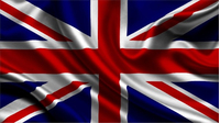 British Union Jack Flag Decal / Sticker 08