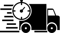 Delivery Truck Decal / Sticker 02