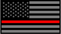 CUSTOM THIN RED LINE DECALS and THIN RED LINE STICKERS