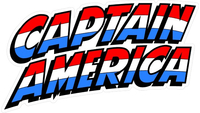 Captain America Decal / Sticker 01
