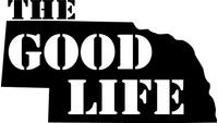 Nebraska The Good Life Decal / Sticker 05