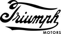 Triumph Motors Decal / Sticker 55
