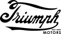 Triumph Motors Est 1902 Decal / Sticker 54