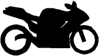 Sportbike 03 decal / sticker