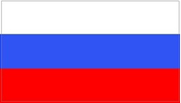 Russian Flag Decal / Sticker 03 Vector Art
