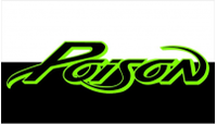 CUSTOM POISON DECALS and POISON STICKERS