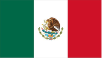 Mexican Flag Decal / Sticker 05
