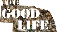 Nebraska The Good Life Camo Decal / Sticker 07