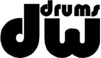 CUSTOM DW DRUMS DECALS and STICKERS