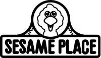 Sesame Place Decal / Sticker 01