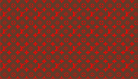 Red and Brown Louis Vuitton Pattern Decal / Sticker 21