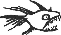 Piranha Decal / Sticker 01