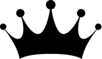 Crown Decal / Sticker 02
