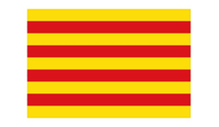 Catalonia Flag Decal / Sticker 01