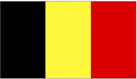 Belgium Flag Decal / Sticker