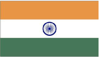 India Flag Decal / Sticker