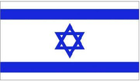 Israeli Flag Decal / Sticker
