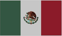 Mexican Flag Decal / Sticker