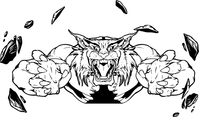 Bobcat Mascot Decal / Sticker
