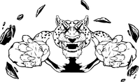 Jaguars Mascot Decal / Sticker