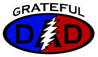 Grateful Dad Decal / Sticker 07