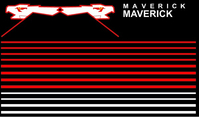 Top Gun Maverick Helmet Decal / Sticker Set 07