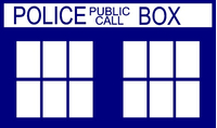 Doctor Who Tardis Decal / Sticker 05
