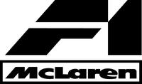 McLaren F1 Decal / Sticker 10