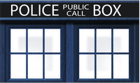 Doctor Who Tardis Decal / Sticker 03