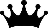 Crown Decal / Sticker 03