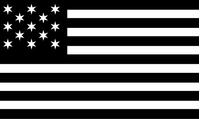 Hopkinson U.S. Navy American Flag Decal / Sticker 01