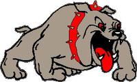 Bulldog Decal / Sticker 08fc2