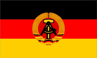 East Germany Flag Decal / Sticker