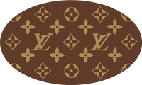 Louis Vuitton Pattern Decal / Sticker 04