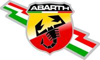Fiat Abarth Decal / Sticker 30