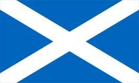 Scotland Flag Decal / Sticker 03