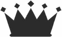 Crown Decal / Sticker 01