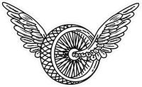 Winged Wheel Decal / Sticker 01