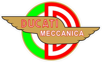 Ducati Meccanica Decal / Sticker 01