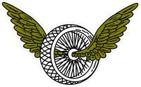 Winged Wheel Decal / Sticker 02