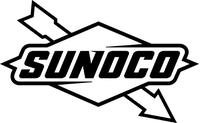 Sunoco Decal / Sticker 03