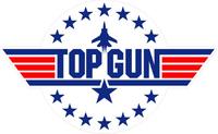 Top Gun Decal / Sticker 07