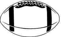 Football Decal / Sticker