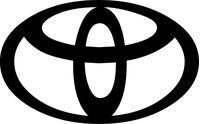 Toyota Logo Decal / Sticker
