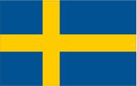 Sweden Flag Decal / Sticker