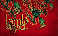 Lamb of God Decal / Sticker 08