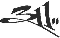 311 Band Decal / Sticker